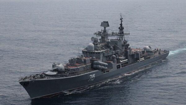 Совместные учения ВМС КНР и Тихоокеанского флота РФ - Sputnik Mundo