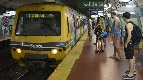 Metro de Buenos Aires, Argentina - Sputnik Mundo