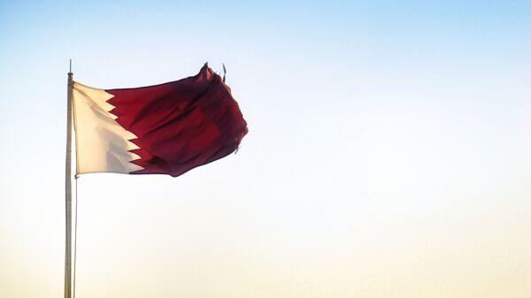 Bandera de Catar - Sputnik Mundo