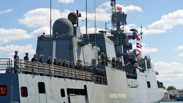 La novedosa fragata rusa Almirante Grigoróvich - Sputnik Mundo