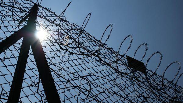 Valla de una cárcel en México - Sputnik Mundo