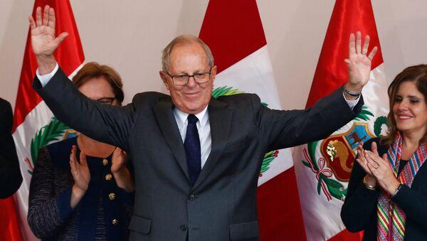 Pedro Pablo Kuczynski, expresidente de Perú - Sputnik Mundo