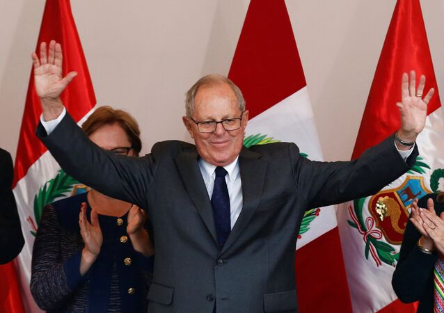 Pedro Pablo Kuczynski, expresidente de Perú