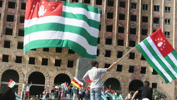 Banderas de Abjasia - Sputnik Mundo
