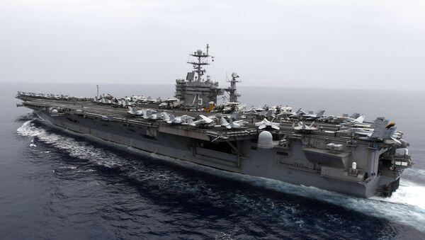 Portaviones estadounidense USS Harry S. Truman - Sputnik Mundo