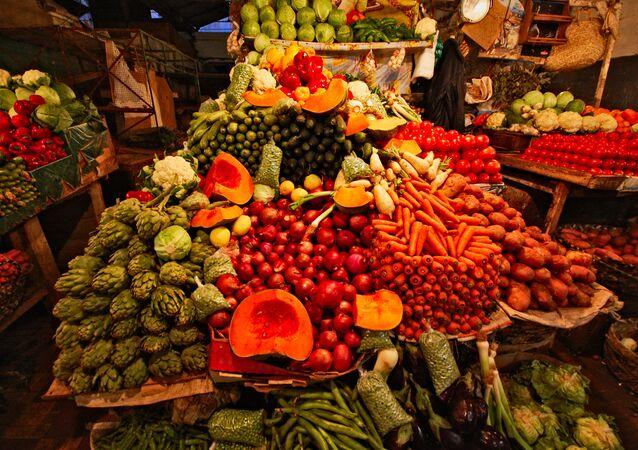 Un mercado marroquí