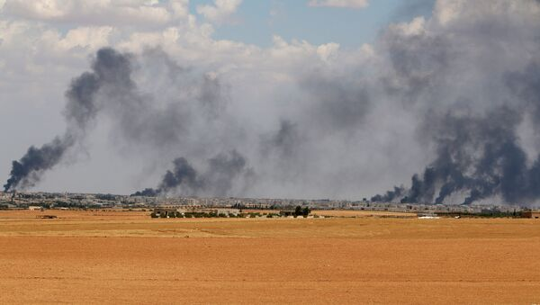 Area cerca de la ciudad de Manbij en la provincia de Alepo - Sputnik Mundo