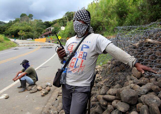 Indígenas y campesinos en Colombia (archivo)
