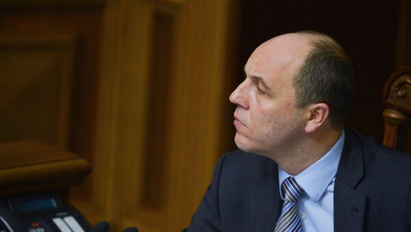 El presidente de la Rada Suprema (Parlamento ucraniano), Andréi Parubi - Sputnik Mundo