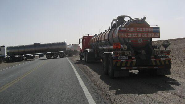 Camiones en Argentina (Archivo) - Sputnik Mundo