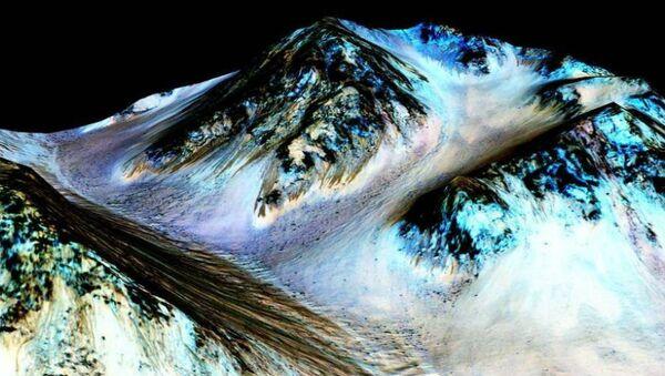 Water flows on Mars - Sputnik Mundo