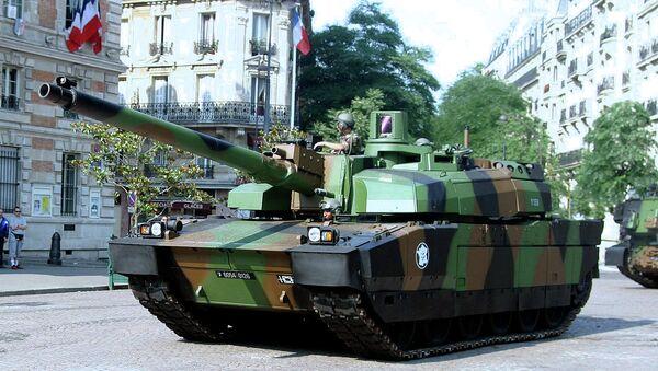 Leclerc, tanque francés - Sputnik Mundo