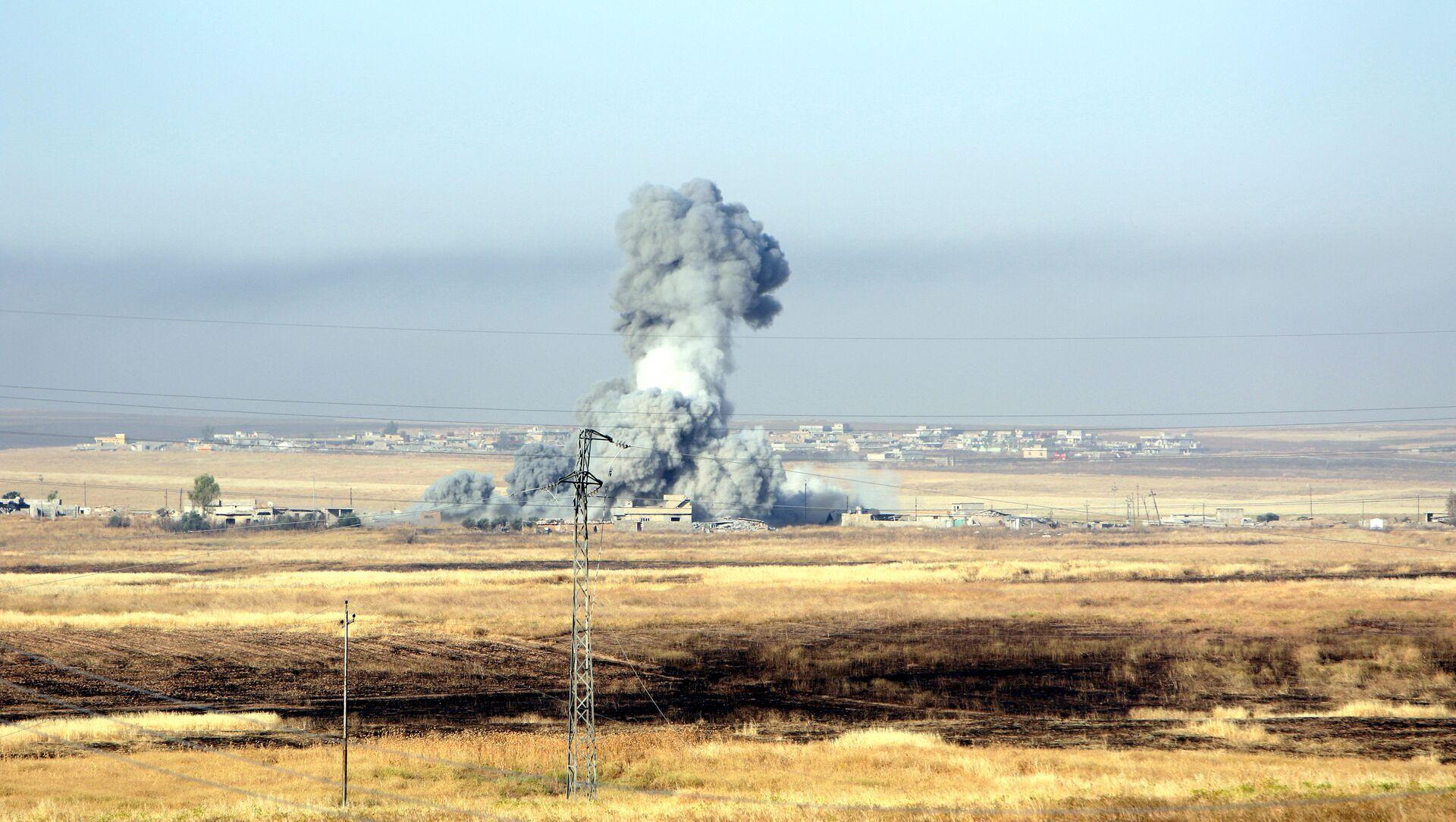 Ataque aéreo contra Daesh de la coalición liderada por EEUU - Sputnik Mundo, 1920, 18.11.2016