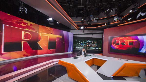 Ньюсрум телеканала Russia Today - Sputnik Mundo