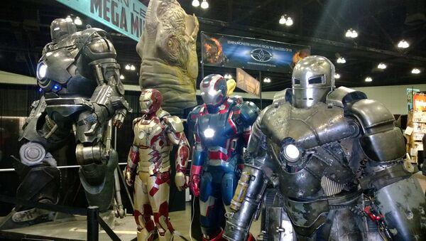 Trajes de Iron Man de Hollywood - Sputnik Mundo
