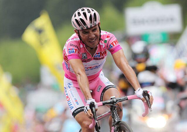 El ciclista de origen español del equipo ruso 'Katiusha', Joaquim Rodríguez