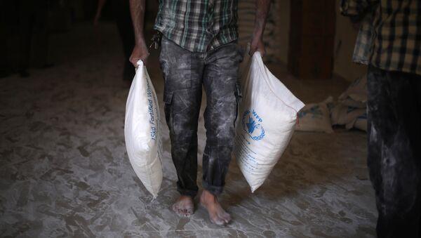 Ayuda humanitaria de la ONU para Siria - Sputnik Mundo