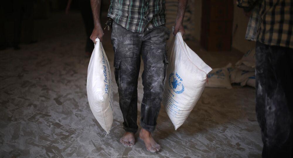 Ayuda humanitaria de la ONU para Siria (archivo)