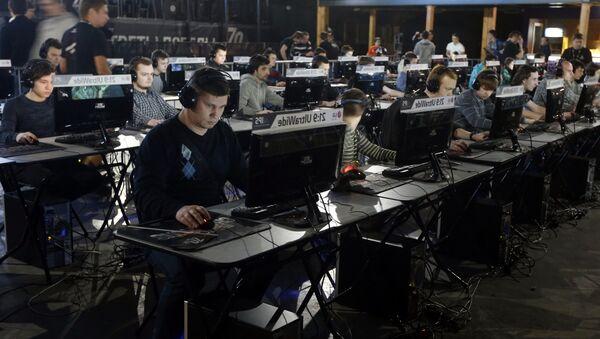 El torneo de juegos en línea en Rusia - Sputnik Mundo