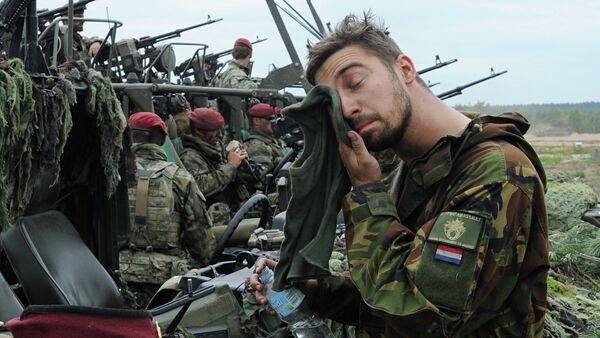 Militar de los Países Bajos (archivo) - Sputnik Mundo