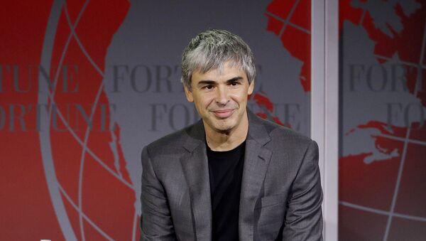 Larry Page, cofundador de Google - Sputnik Mundo