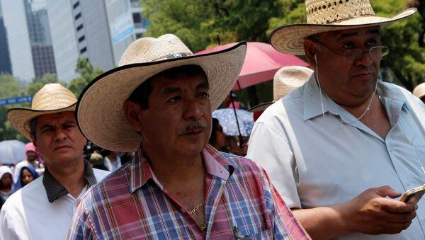 Rubén Núñez, líder de CNTE - Sputnik Mundo