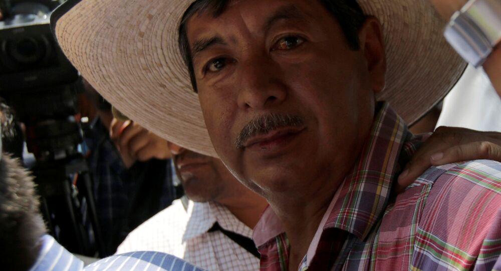 Rubén Núñez, líder de CNTE