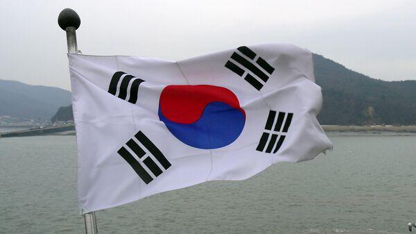 La bandera de Corea del Sur - Sputnik Mundo