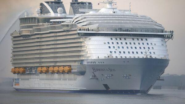 El crucero Harmony of the Seas - Sputnik Mundo
