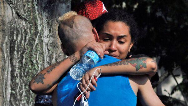 Los amigos y familiares de las víctimas del atentado de Orlando - Sputnik Mundo