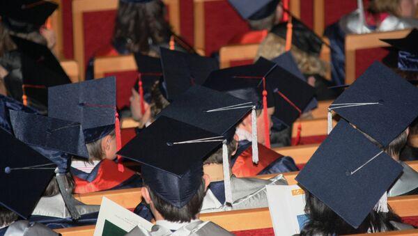 Graduados universitarios - Sputnik Mundo