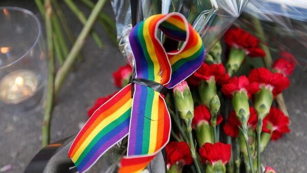Símbolo del movimiento LGBT - Sputnik Mundo