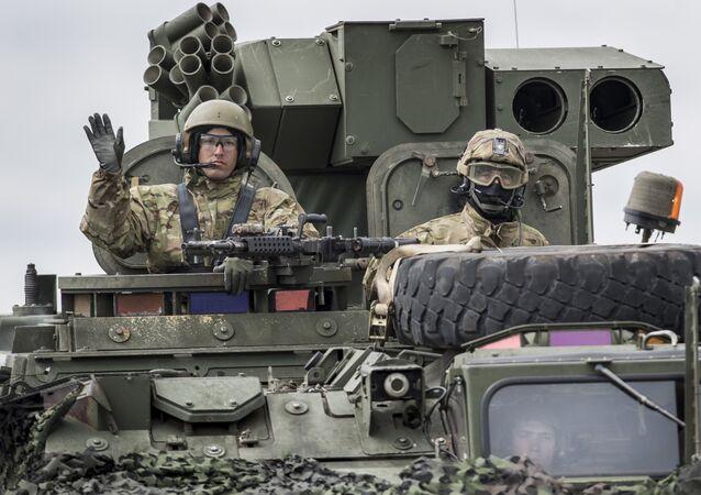 Militares de EEUU en Europa