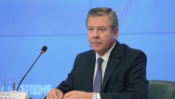 El vicecanciller ruso, Guennadi Gatílov - Sputnik Mundo