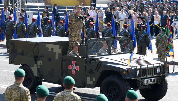 El ministro ucraniano de Defensa, Stepán Poltorak (archivo) - Sputnik Mundo