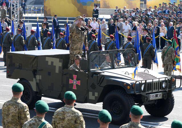El ministro ucraniano de Defensa, Stepán Poltorak (archivo)