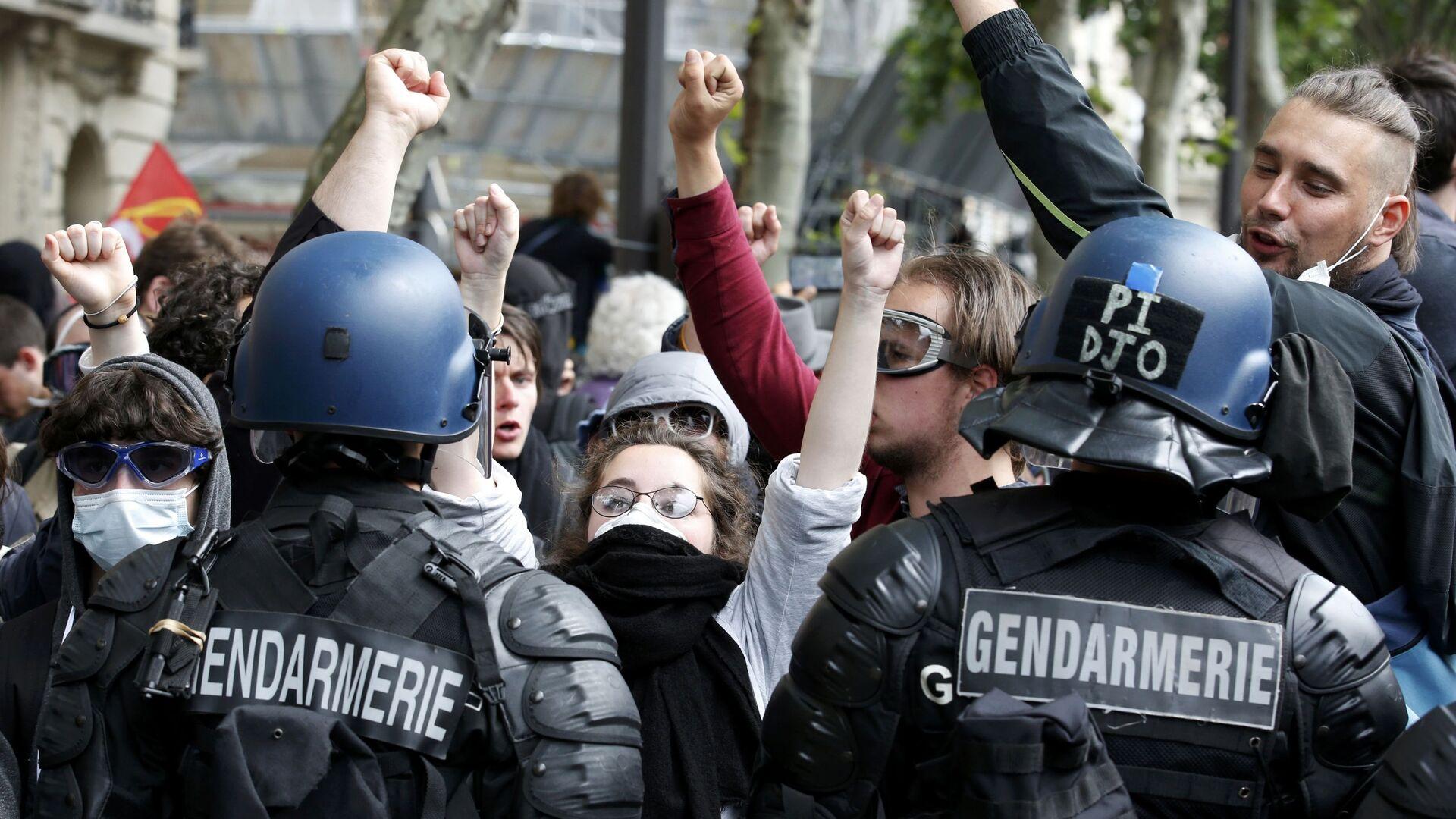 Protestas en Francia (archivo) - Sputnik Mundo, 1920, 09.05.2021