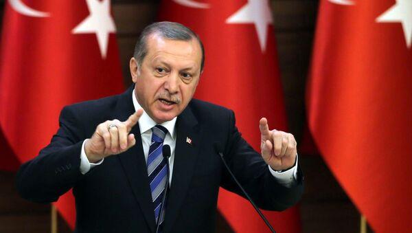 Turkish President Recep Tayyip Erdogan (File) - Sputnik Mundo