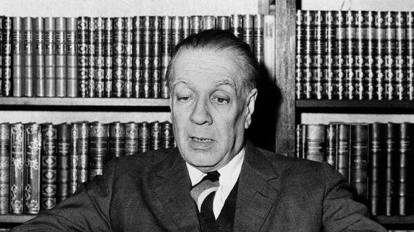 Argentina's writer Jorge Luis Borges  - Sputnik Mundo