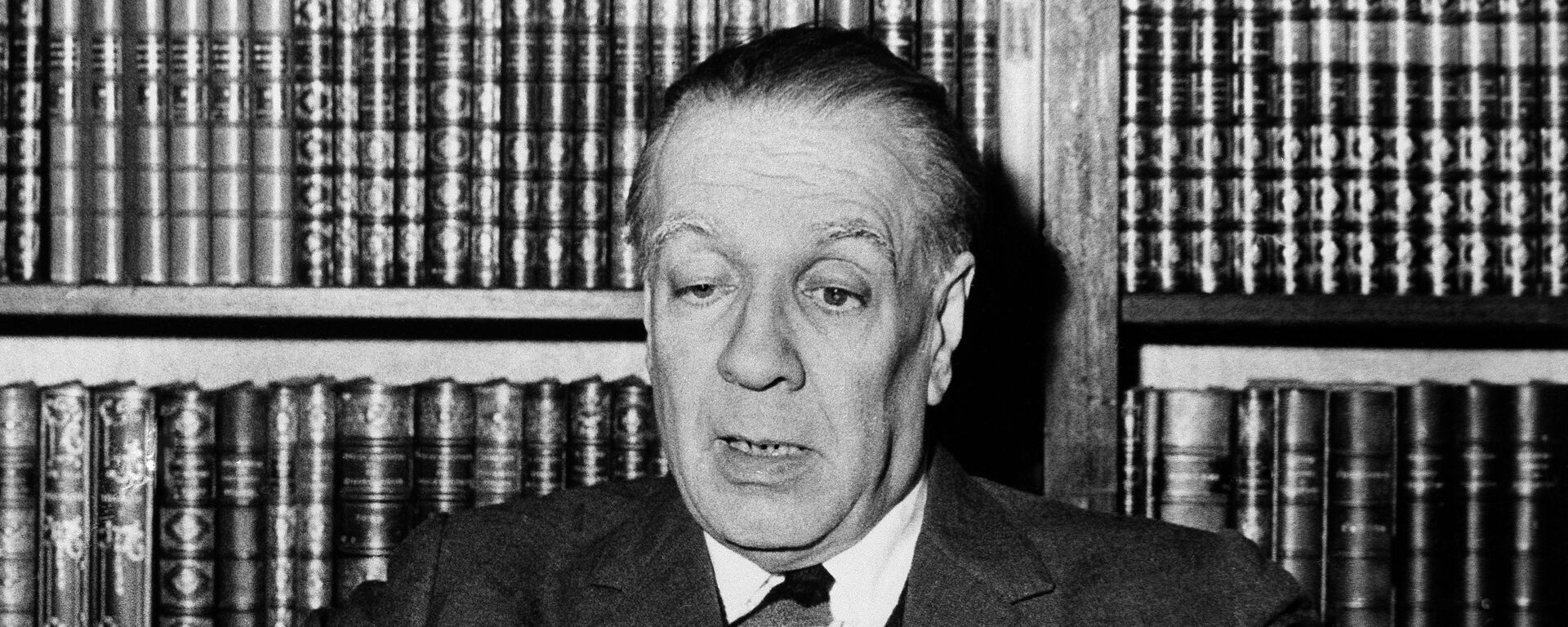 Argentina's writer Jorge Luis Borges  - Sputnik Mundo, 1920, 14.05.2021