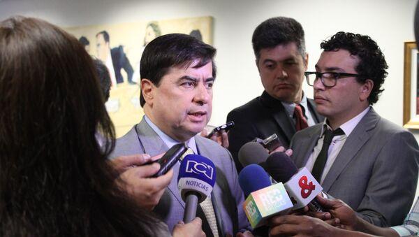 Juan Fernando Cristo, ministro del Interior de Colombia - Sputnik Mundo