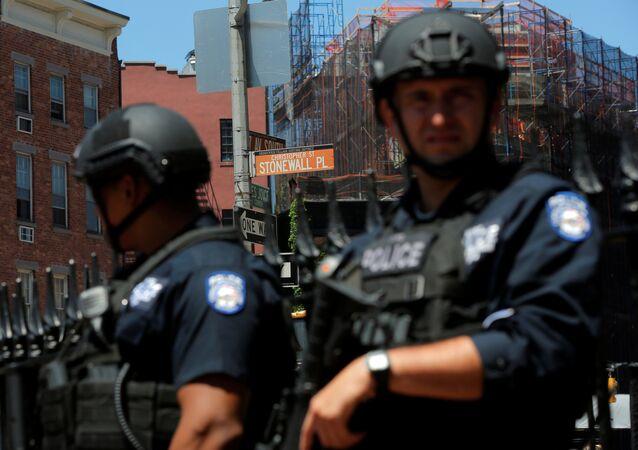 Policías estadounidenses