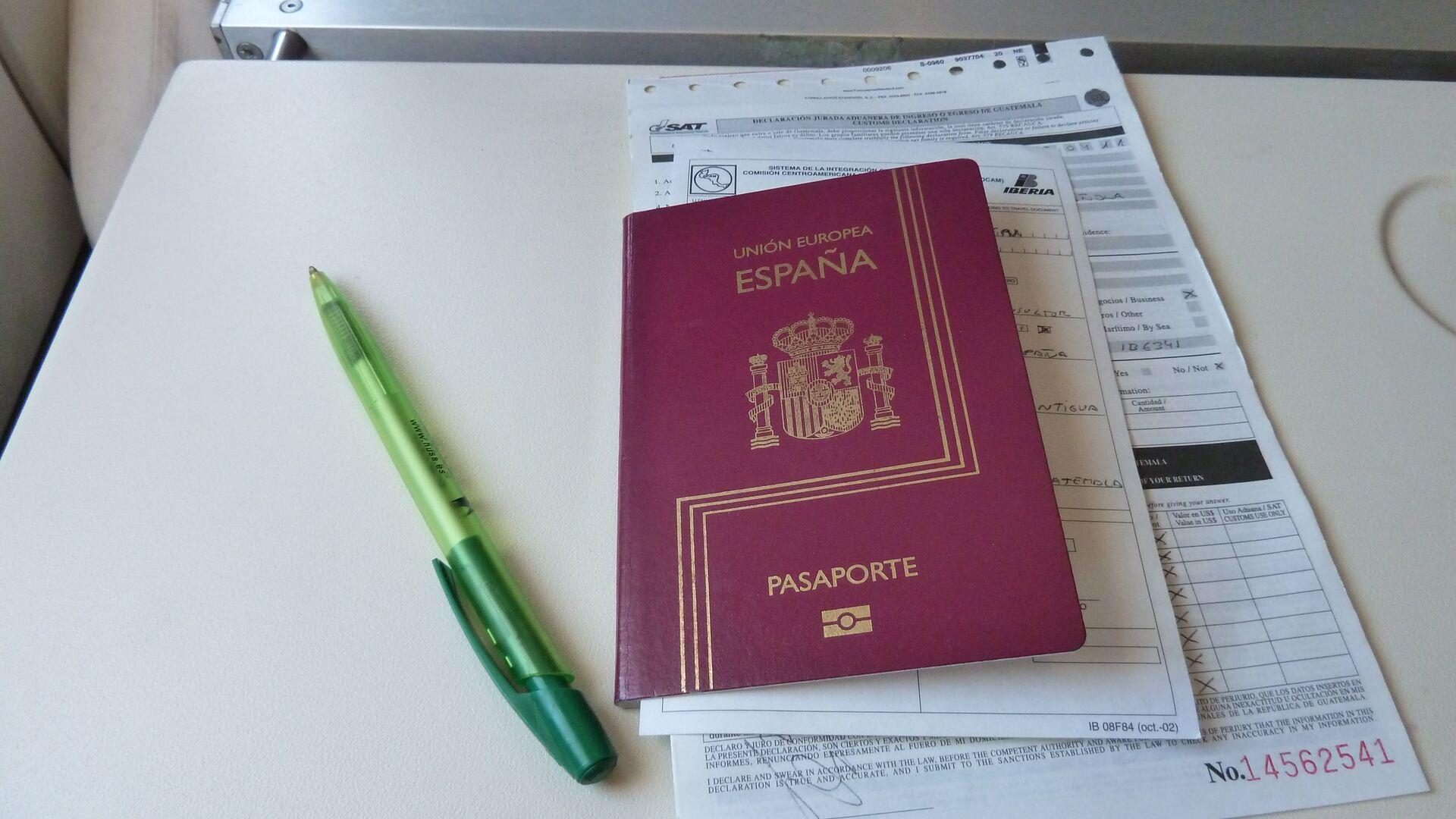 Pasaporte de España - Sputnik Mundo, 1920, 10.03.2021