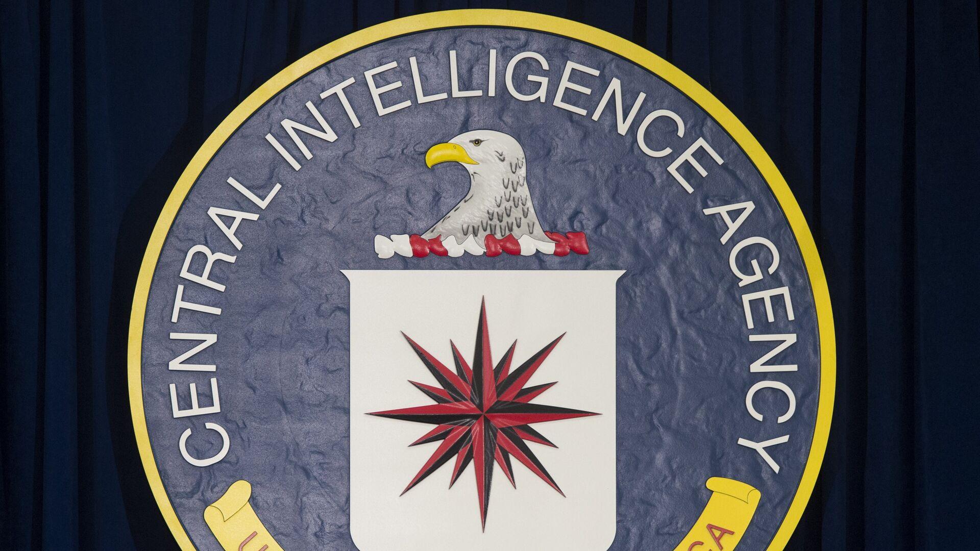 The logo of the Central Intelligence Agency (CIA) - Sputnik Mundo, 1920, 29.05.2021
