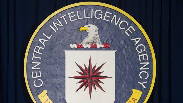 The logo of the Central Intelligence Agency (CIA) - Sputnik Mundo