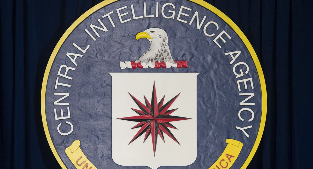 El logo de la Agencia Central de Inteligencia de Estados Unidos (CIA)