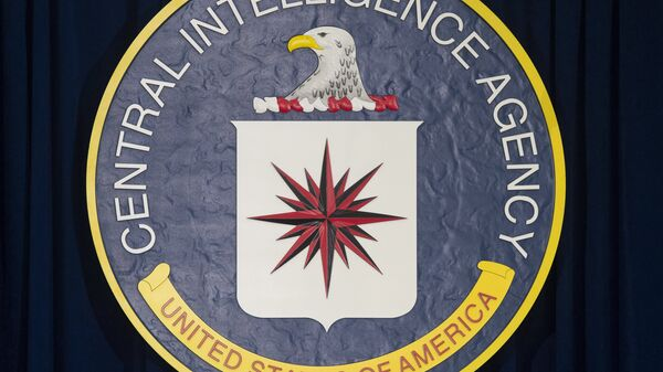 The logo of the Central Intelligence Agency (CIA) - Sputnik Mundo
