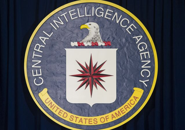 The logo of the Central Intelligence Agency (CIA)