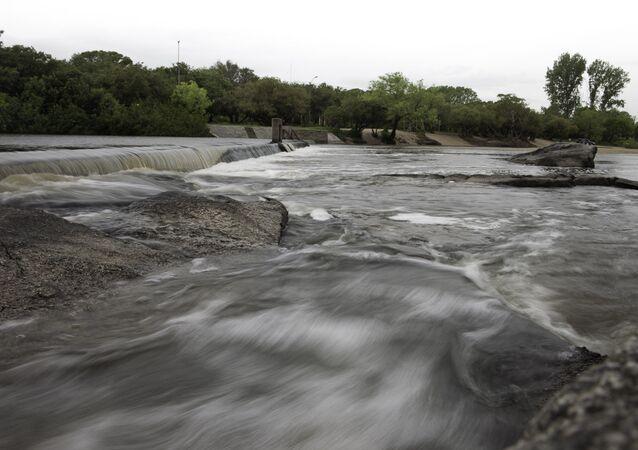 Río Santa Lucía, Uruguay