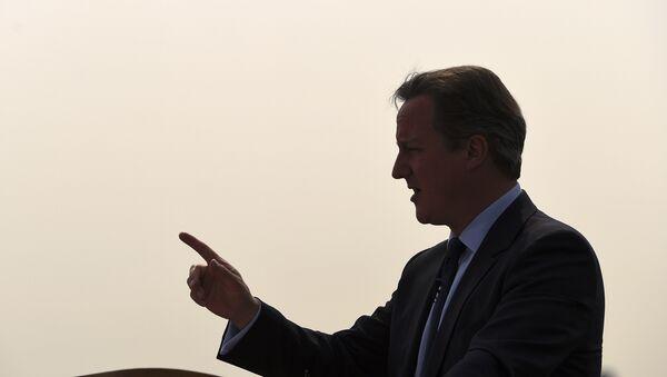 David Cameron, ex primer ministro del Reino Unido - Sputnik Mundo